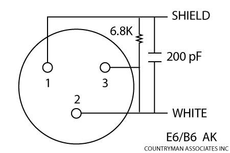 microphone and wireless transmitter wiring countryman com diagram