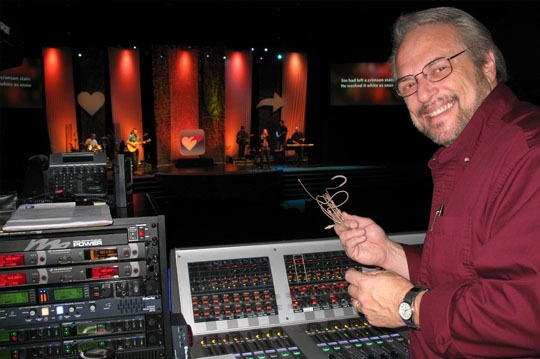 Countryman E6 Earset Shines at Venture Christian Church