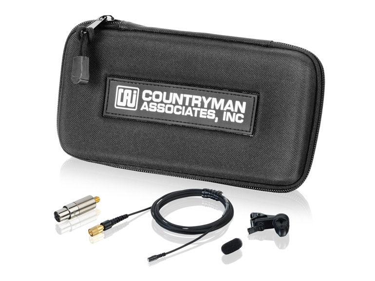 Countryman B2DW4FF05CANF B2D Directional Lavalier Microphone with Standard Gain for Audio Technica Transmitters Cocoa