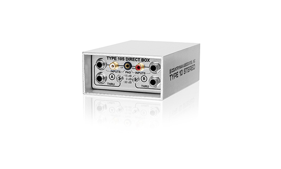 Type 10S Stereo Direct Box