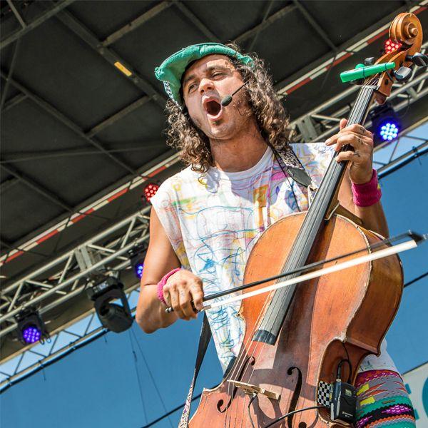 Countryman's ISOMAX Headset Crucial to Avant Garde Cellist Rushad Eggleston's Performances